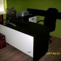 birou alb negru