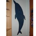 camera copii cuier delfin albastru